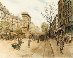 Boulevard Saint Denis 1921