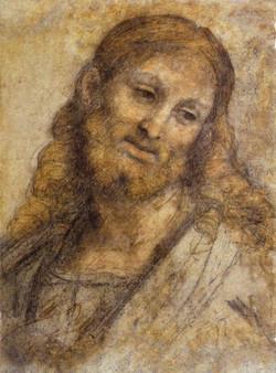 1500 Andrea Solario - Head of a Bearded Man