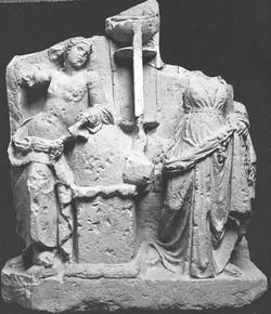 Apollon, omphalos, trépied