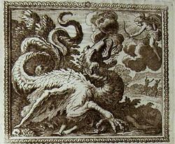 Combat d'Apollon et Python