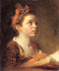 1775 young scholar Fragonard