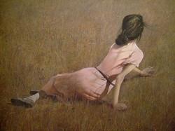 Andrew Wyeth - Christina's World detail