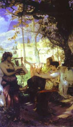 Song of a Slave-girl 1884