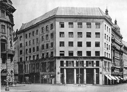 Looshaus, Vienne. vue ancienne