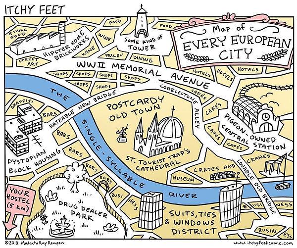 Ville européenne générique