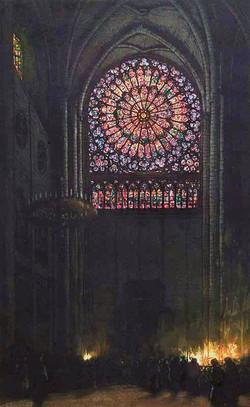 Rosace de Notre-Dame 1922