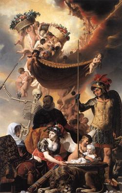 1650 Allegory of the Birth of Frederik Hendrik