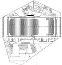 plan niveau auditorium