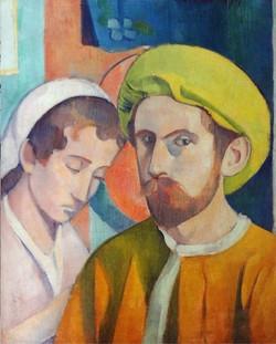 Autoportrait au turban jaune (1894)
