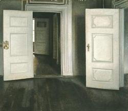 Weiße Türen, offene Türen, 1905