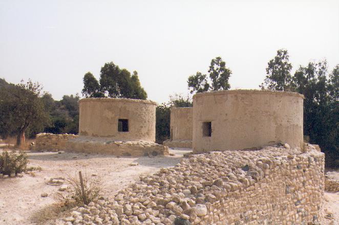 Khirokitia Kypros - Reconstruction