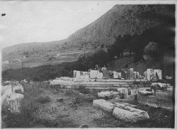 Tholos before anastylosis