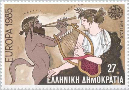 Apollon et Marsyas