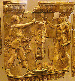 Apollo, Herakles and the tripod