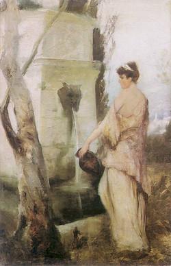 à la fontaine