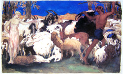 1910 Daphnis et Chloé
