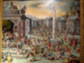 Antoine Caron - Le massacre des triumvir