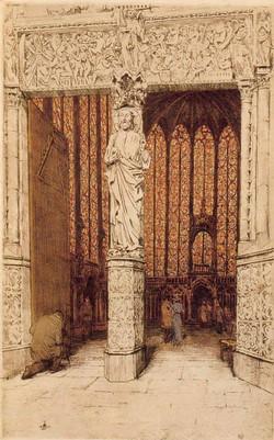 Sainte-Chapelle 1911