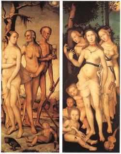 1539 3 âges de la femme 3 Grâces