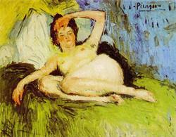 1901 Jeanne (nu couché)