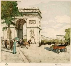 Arc de Triomphe 1911