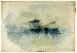 A Storm over Lago Maggiore from near Magadino 1842