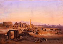 Caffi, Egitto - Karnak a Tebe