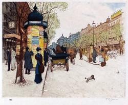 Boulevard Saint Martin 1910