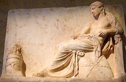 Apollon sur l'omphalos