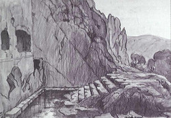 Charles Martel 1919 Fontaine Castalie