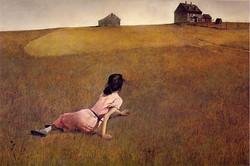 Andrew Wyeth - Christina's World - Wallpaper