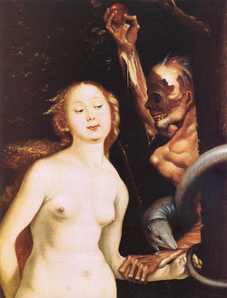 1510ca Eve, the Serpent and Death