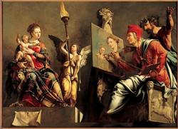 De_heilige_Lucas_schildert_de_Madonna-1532