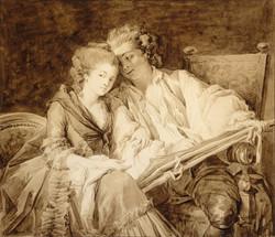1777_Francois-André_Vincent_-_la_leçon_de_dessin