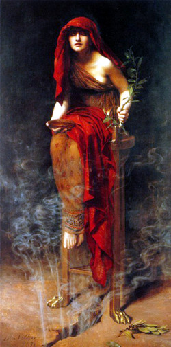 Priestess of the Oracle Delphi 1891