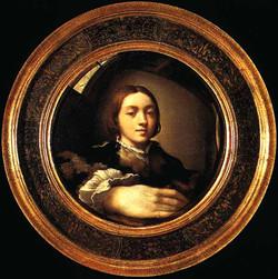 autoportrait au miroir