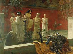 Camillo Miola - The Oracle (1880)