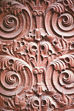 Wainwright Bldg, floral design