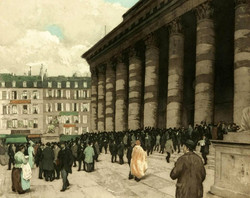 La Bourse 1912