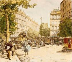 Les Grands Boulevards 1908