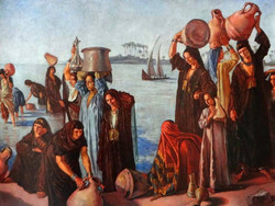 'Femmes au bord du Nil' -1900