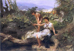 A scene from Roman life 1885 2