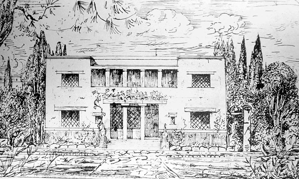 maison Karamanos à Athènes 1925
