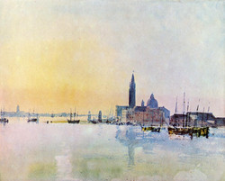 Venice, San Guirgio from the Dogana, Sunrise