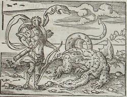 Apollon et Python