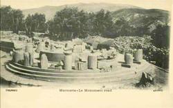 Delphes, le monument rond