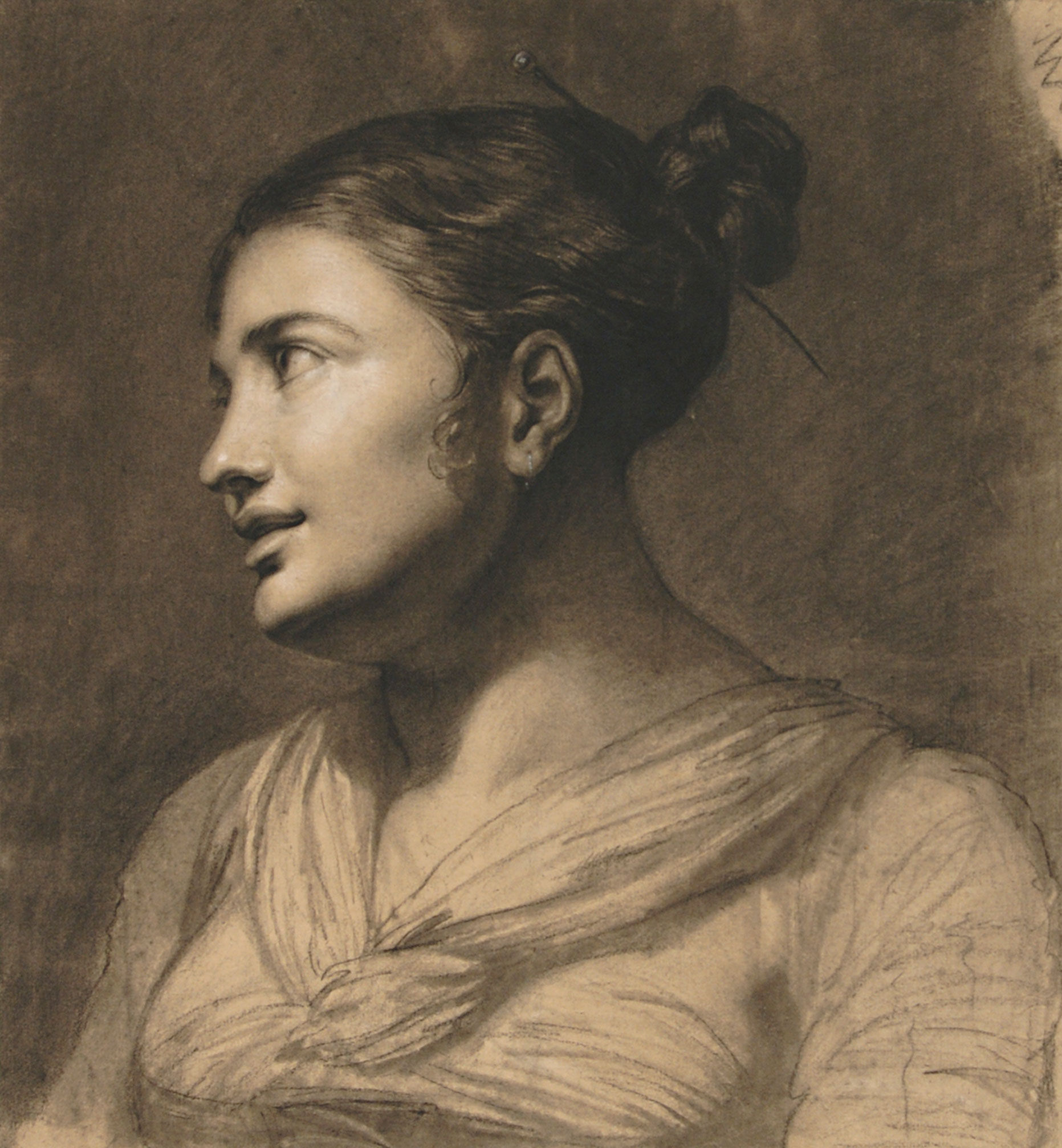 1850 Pauline Auzou, Portrait of a Girl