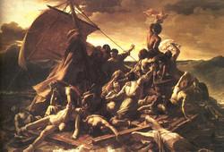 Le radeau de la Méduse 1823