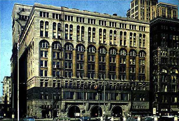 auditorium Building, Chicago
