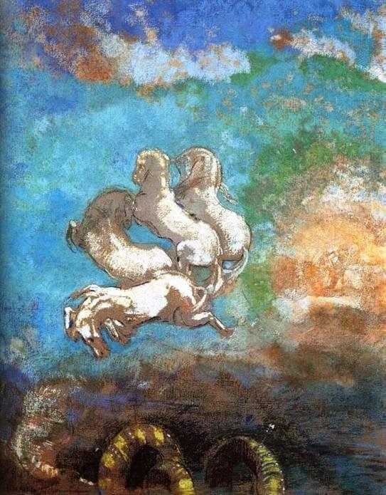 Redon - Le char d'Apollon